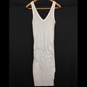 Standard James Perse Tight Midi Dress Stretch